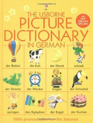 Usborne Picture Dictionary in German (Usborne Pic... by Chandler, Fiona Hardback