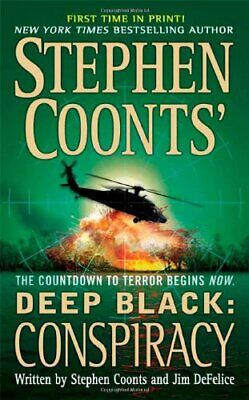 Conspiracy (Stephen Coonts' Deep Black (Paperback)) by Coonts, Stephen Book The