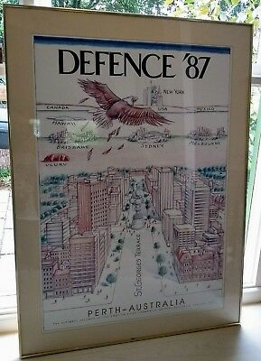 Americas Cup Defence 87 Perth Colour Print Hand Numbered