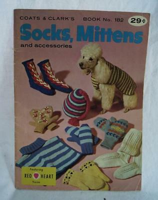 Vintage Coat's and Clarks Socks Mittens and Accessories Book