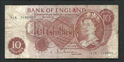 Great Britain (Bank of England) 1962-66 10 Shillings P 373b Circulated