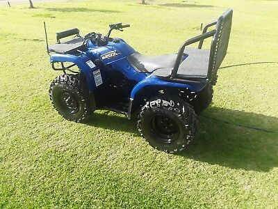 Yamaha grizzly 350 quad bike