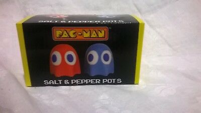 Collectable Pacman Salt & Pepper Shakers - Brand New In Box