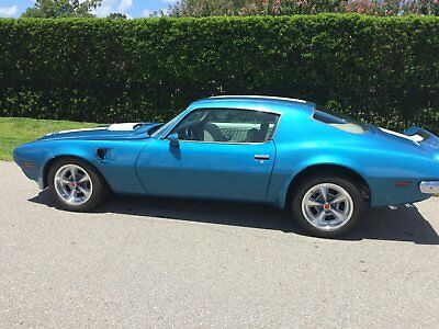 1970 Pontiac Firebird Trans-Am 1970 pontiac firebird trans am Complete body off restoration 455cid 4-speed A/C