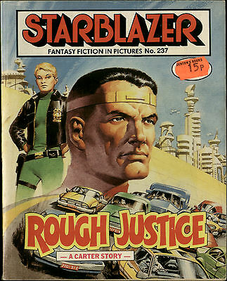 Rough Justice,starblazer Fantasy Fiction In Pictures,no.237,1989,comic