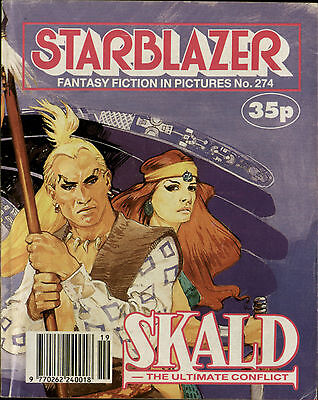 Skald-Ultimate Conflict,starblazer Fantasy Fiction In Pictures,comic,no.274,1990