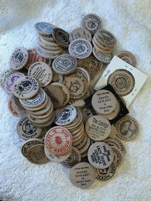 So-Called Wooden Nickels! ~ All Shown!-- AWESOME!!  **ULTRA LOW STARTI BID!**