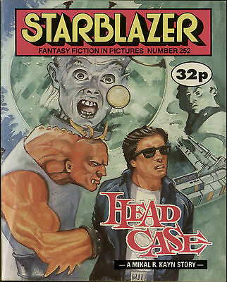 Head Case,starblazer Fantasy Fiction In Pictures,comic,no.252,1989