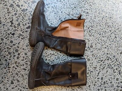 lether boots girl size 32 rarely used