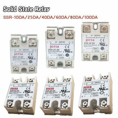 SSR-25/40/60/100DA Practical Solid State Relay for PID Temperature Controller D