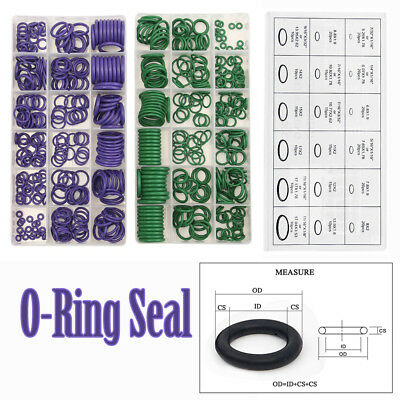 1 Box 18 Sizes Car Air Conditioning R22/R134a O-Ring Seal Rubber Washer Set