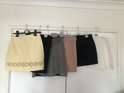 Missguided Topshop Skirt Bundle Size 6