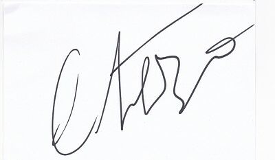 two-time Oscar winner - Cate Blanchett signed autograph