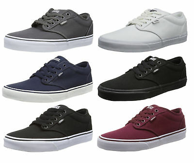 Picture Information 18%  OFF* VANS-Atwood-Canvas-Fashion-Skater-Shoes-Plimsolls