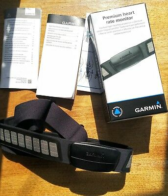 Garmin Premium Soft Strap Heart Rate Monitor ANT+ Used Excellent Condition HRM3