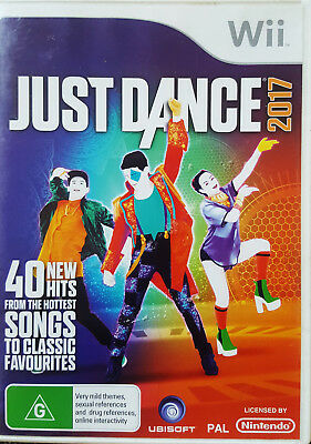 JUST DANCE 2017 THE VIDEO GAME FOR NINTENDO Wii