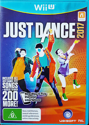 JUST DANCE 2017 THE VIDEO GAME FOR NINTENDO Wii U