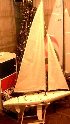 "RC""AMERICA,S CUP-SAILING-YACHT""(1)1Mtr-SET-UP-Ready to Race.MRP."