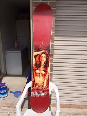 Sims Fader Vivid Chasey Lain 164 Snowboard - Like New/never Used Rare Vintage