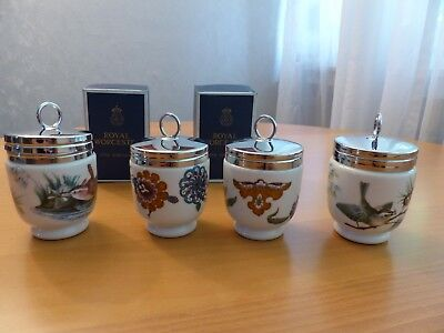4 Royal Worcester Egg Coddler