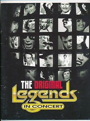The Original Legends in Concert-Imperial Palace Las Vegas, NV-Signed-2003