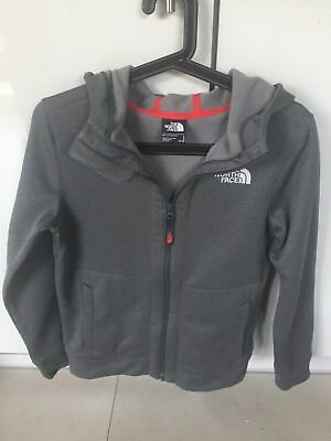 BOYS NORTH FACE ZIPPER SIZE 14/15 years grey jacket style top