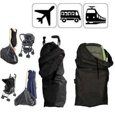 Pram Gate Check Travel Bag Umbrella Stroller Pushchair Buggy Waterproof Cover UK