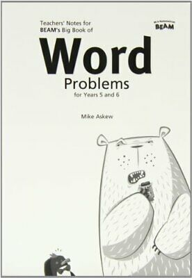 Big Book of Word Problems Yrs 5 & 6 Teachers Book (S... by Askew, Mike Paperback