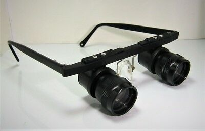 Eschenbach Tele 4x Spectacle Binoculars 4x 24 with Case: VGC+