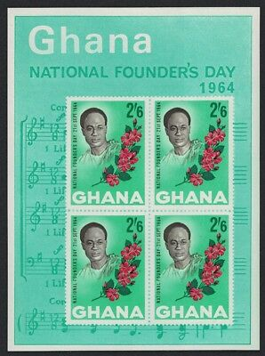 Ghana Founder's Day MS SG#MS346a