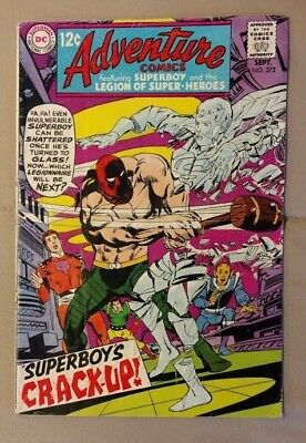 Dc, 1968, Low Grade, Adventure Comics #372 - Superboy & Legion Of Super-Heroes,