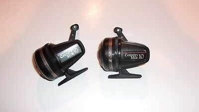 *READ* Lot of 2 Vintage Johnson Country Mile 10 Spincasting Reel - FOR REPAIR*