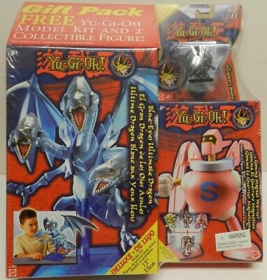 "2004 Yugioh Sealed Blue-Eyes Ultimate Dragon Mattel Model Kit Figure 13"" Deluxe"