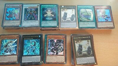 YuGiOh!-Sammlung 500 HOLOS , RARES, SECRETS, SUPERS, KEINE COMMONS!!