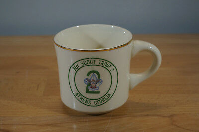 Vintage Boy Scout Troop 2 Athens Georgia GA Coffee Mug USA