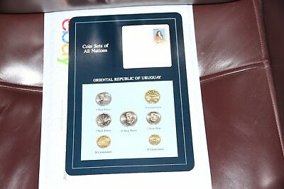 Coin Sets of All Nations Uruguay 1980-1981