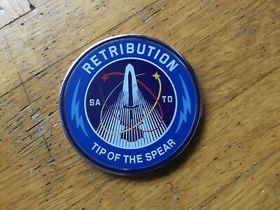 Call of Duty Infinite Warfare Medallie Coin Retribution Tip Of The Spear
