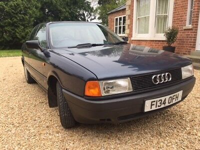 AUDI 80S AUTOMATIC 40000 MILES amazing condition 2 owners MOT to may 2019