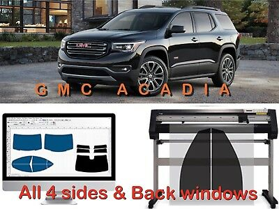 Precut Tint All 4 Sides & Rear Window Tint Kit For Any Gmc Car Or Truck