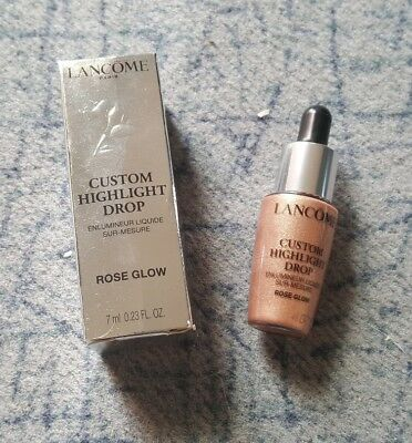 Lancome Custom Highlight Drop Highlighter Farbe Rose Glow 7ml Luxusprobe