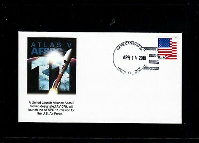 Atlas 5 AFSPC 11 Launch Cover - Only 6 Covers Made
