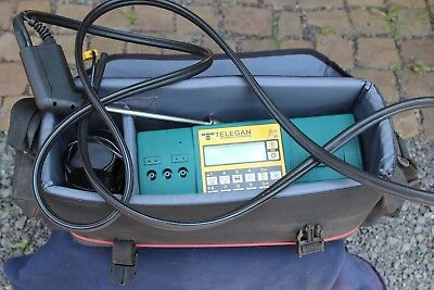 Flue Gas Analyser  Telegan Tempest 50   With Printer  Excellent Used Condition
