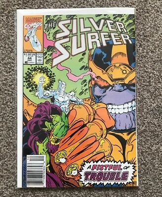 THE SILVER SURFER - VOL 3 - No 44 - 1st Infinity Gauntlet - Nice Copy