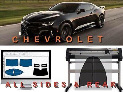 Precut Tint For Front 2 Window Chevy Car Or Trucks