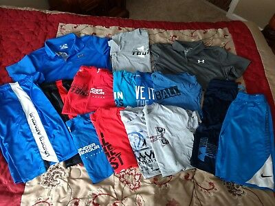 Boys Size YXL XL Xlarge  16pc. Under Armour/Nike/Athletic Summer Lot
