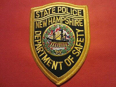 Collectible New Hampshire State Police Patch, New