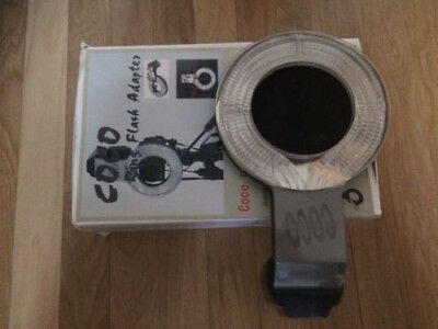 Coco ring flash adapter for Canon 580 EX speedlite