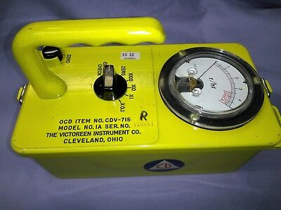 Radiation Survey Meter CDV-715 / Victoreen
