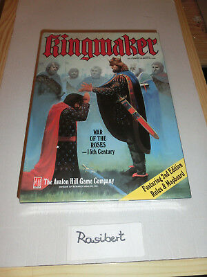 Avalon Hill - Kingmaker- war of the roses - Bookcase Game - neu - in Folie-