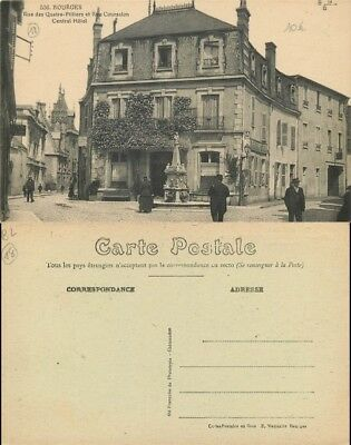 [501756] - France  - (18) Cher, Bourges, Central, Hotels & Restaurants
